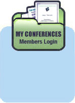My Conferences Members Login
